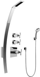 Graff GF2.030A - Luna Thermostatic Shower Set w/Handshower (Rough & Trim)