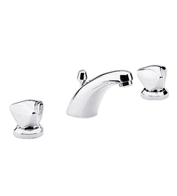Chicago Faucet Kitchen White Handle