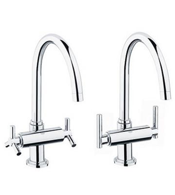 Grohe Atrio 31 001 High Profile Dual Handle Faucet