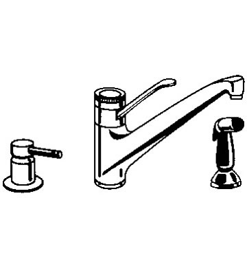 Grohe Classic 33 858 Euromix Kitchen Faucet