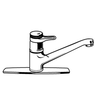 Grohe europlus original 33 864 single handle faucet parts - Grohe kitchen faucets replacement parts ...