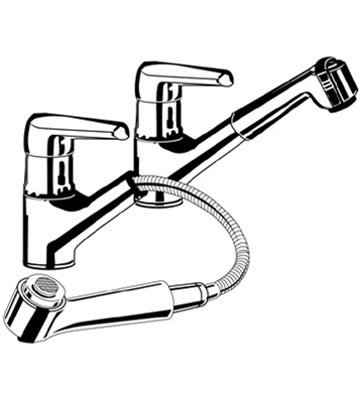 Superbe Grohe Eurowing   33 871 Pull Out Spray Kitchen Faucet Replacement Parts ·  Larger Photo Email A Friend