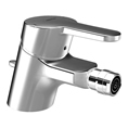 HANSAPRADO Single handle bidet faucet with pop-up waste