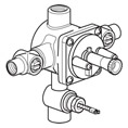 Hansa 5205 0100 0017 Pressure Balance Valve Rough-in with Diverter