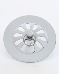 Jaclo 505 Old Style Tub Strainer with Bolt and Ring