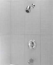 Jaclo 6000-123-41 SIERRA THERM TUB/SHOWER SET