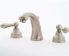 Jaclo 6840-T636 Jaylen Transitional Widespread Faucet with Lever Handles and Pop-Up Drain for Exposed Applications