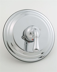 Jaclo A265 Teardrop Lever, High End Faceplate Pressure Balancing Valve - Complete With Trim