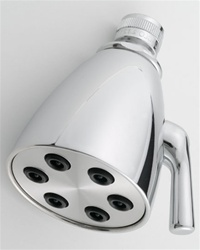 Jaclo B728 Contemp #2 Shower Head with 2-3/4-inch Face and 6 Spray Jets