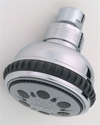 Jaclo S129 Leticia Multifunction Shower Head with Unique Micro Power Sprays, Ideal For Low Water Pressure