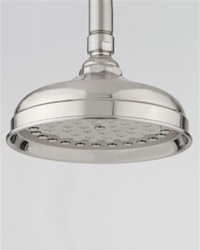 Jaclo S183 Michelle 6-inch Rain Shower Head with 61 Sprays