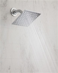 "Jaclo S207-2.0 - 6"" Square Brass Rain Machine® Shower Head"