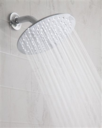 "Jaclo S208 - 8"" Round Brass Rain Machine® Shower Head"