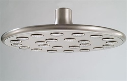 Jaclo S2700 Normandy 10-inch Flood Shower Head with 432 Jets