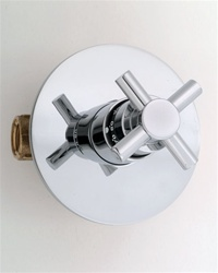 "Jaclo T530 CONTEMPO Cross 3/4"" Thermostatic Shower Valve With Trim"