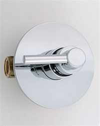 Jaclo T532 Contempo Lever 3/4-inch Thermostatic Shower Valve With Trim