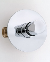 Jaclo T572 Contempo Round 3/4-inch Thermostatic Shower Valve With Trim