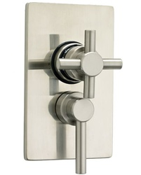 Jaclo T6530 1/2-inch Thermostatic Cont Cross/Lever