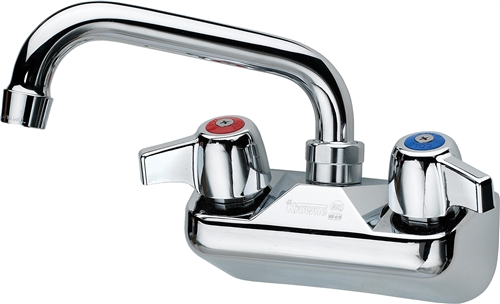 Good Krowne 10 406 4 Inch Center Commercial Hand Sink Faucet With 6 Inch Tube
