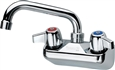 "Krowne C-1B - Commercial Duty Hand Sink Faucet with 6"" Straight Spout"
