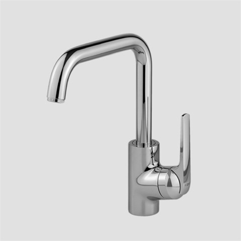 KWC 10.061.013.000 Domo Swivel Spout Kitchen Faucet with 9 ...