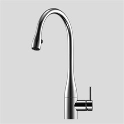 kwc 10 111 103 000 eve pull down kitchen faucet chrome