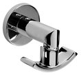 Meridian 2140017 - Robe Hook (Solid Brass Construction) - Polished Chrome
