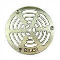"MIFAB 5PG 3 5"" grate w/ securing screws 4 7/8"" OUTSIDE DIAMETER"