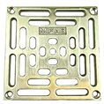 "MIFAB S5PG 3 5X5 grate w/ securing screws 4 1/2"" OUTSIDE DIAMETER"