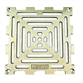 "MIFAB S6PG 1 6X6 grate w/ securing screws 5 1/2"" OUTSIDE DIAMETER"
