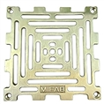 "MIFAB S6PG 3 6X6 grate w/ securing screws 5 1/2"" OUTSIDE DIAMETER"