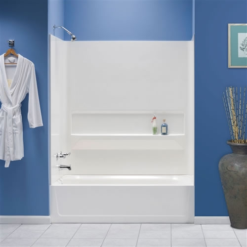 Mustee 660 Bathtub Wall