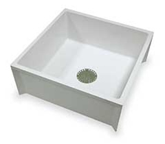 Mustee - 24-inch x 24-inch Mop Sink