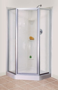 Mustee Stylemate Neo Angle Shower Doors