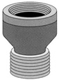 Pasco - 7527 - 1/2-inch BR. EXTENSION PIECE