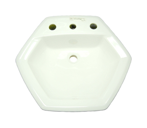 top mount sink bathroom american standard 0485 013 020 hexalyn top mount sink white 20990