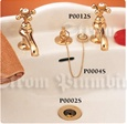 Strom Plumbing - P0012S Supercoat Brass Antique Reproduction Individual Basin Faucets with Cross Handles. The P0012 metal cross handles have porcelain buttons for hot and cold