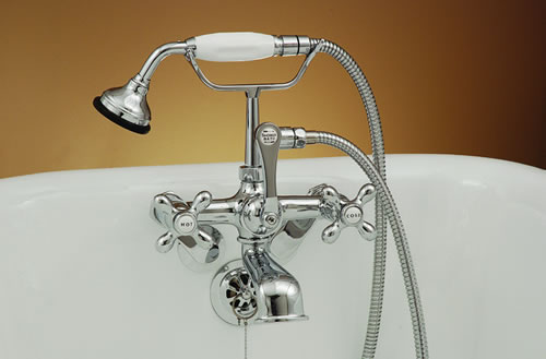 Handheld Shower Variable For Clawfoot Bathtubs Larger Photo Email A Friend