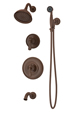 Symmons 5106-ORB Winslet Tub/Shower Unit