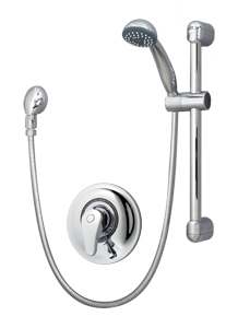 series shower symmons tub system pressure systems chrome carrington balance