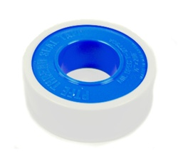 Teflon Plumber's Tape is designed as a seal for for pipe thread fittings. The tape is wrapped around the exposed threads of a pipe before it is screwed into place.