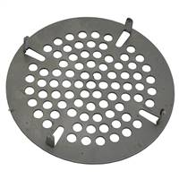 T&S Brass 010386-45 - 3-1/2-inch Flat strainer insert for commercial lever style kitchen sink drains.