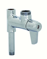 T&S Brass - 5AFL00 - Faucet, Add-On for Pre-Rinse, Less Nozzle