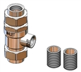T&S Brass - B-0962 - Backflow Preventer, 3/4-inch NPT, Designed for Continuous Pressure, Atmospheric Vent