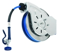 T&S Brass - B-7132-01 - Hose Reel, Open, Stainless Steel, 35'Hose, 3/8-inch ID with Spray Valve