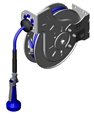 T&S Brass - B-7132-08H - Hose Reel:35Ft, Open, 3/8-inch, SS, Hi-Flow Spray Valve