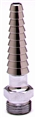 T&S Brass - BL-5550-25 - Lab, Straight Serrated Tip, 3/8-inch NPSM Inlet