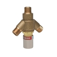 "T&S Brass EC-TMV - Thermostatic Mixing Valve W/ 1/2"" Npsm Male Fittings"
