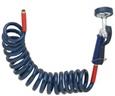 T&S Brass - PG-35AV-CH - Pet Grooming Aluminum Angled Spray Valve and Coiled Hose