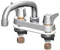 Union Brass® - 347A - Metal Handles, 8-Inch Tube Spout, Aerator